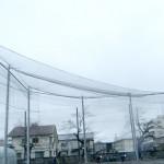防護ネット(校庭用 防球ネット)4