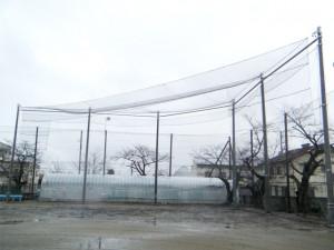 防護ネット(校庭用 防球ネット)7