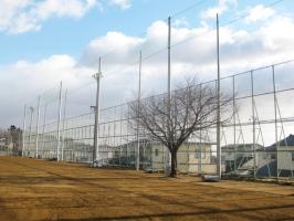 屋外スポーツ用の網