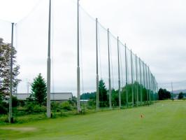 ゴルフ練習場 防球ネット張り替え工事
