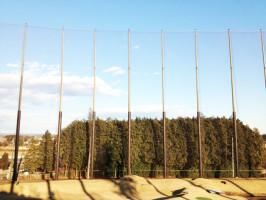 ゴルフ練習場 栃木県 網の張り替え工事