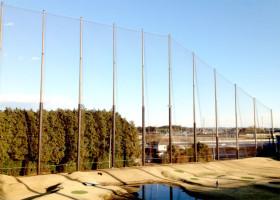 網の張り替え施工